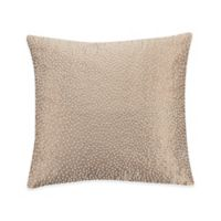 Valeron Ambroise Pin Dot Square Throw Pillow in Gold