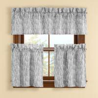 Boulder 45-Inch Window Curtain Tier Pair in Grey