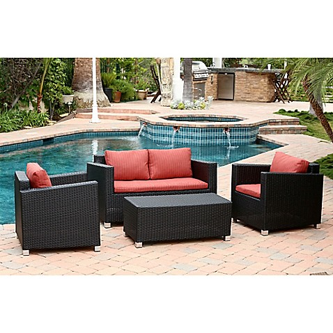 Abbyson Living Hampton Patio Furniture Collection Bed Bath Beyond