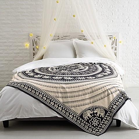 Shanti Tapestry In Cream Bed Bath Beyond