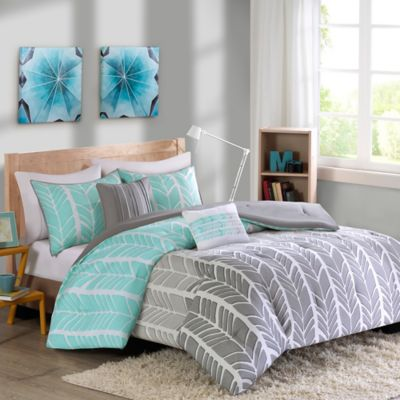 Buy Aqua Bed Comforter Sets Queen from Bed Bath & Beyond