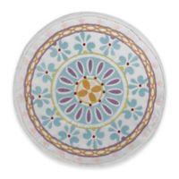 Dena™ Home Valentina Sundial Round Throw Pillow in Aqua/White