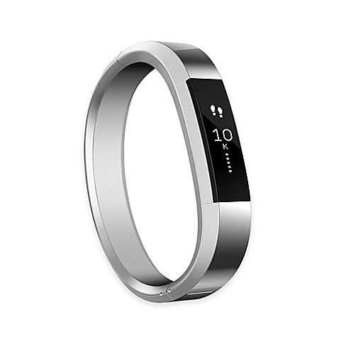 Fitbit 174 Alta Small Metal Accessory Band In Silver Bed