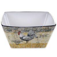 Certified International Vintage Rooster Deep Bowl
