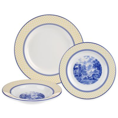 Spode® Giallo 3-Piece Place Setting  sc 1 st  Bed Bath u0026 Beyond & Buy Spode Set from Bed Bath u0026 Beyond