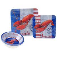 Certified International Maritime Lobster 12-Piece Dinnerware Set