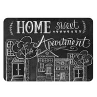 The Softer Side by Weather Guard™ 18-Inch x 27-Inch Home Sweet Apartment Kitchen Mat