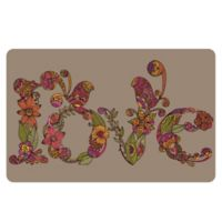 The Softer Side by Weather Guard™ 23-Inch x 36-Inch Love Kitchen Mat
