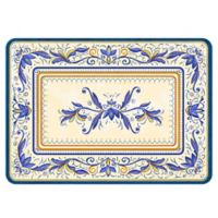 The Softer Side by Weather Guard™ 23-Inch x 36-Inch Verona Kitchen Mat in Blue