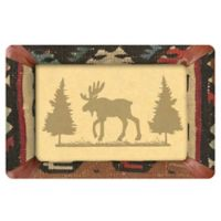 The Softer Side by Weather Guard™ 18-Inch x 27-Inch Western Moose Frame Kitchen Mat