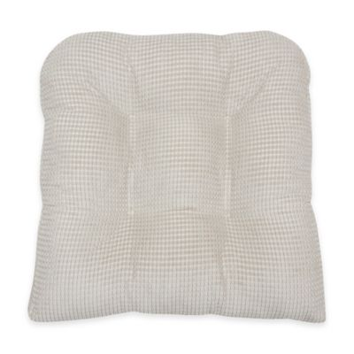 buy natural chair pads from bed bath beyond
