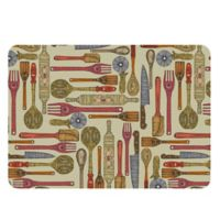 The Softer Side by Weather Guard™ Let's Cook Kitchen Mat