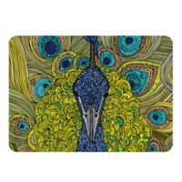 The Softer Side by Weather Guard™ Peacock Kitchen Mat