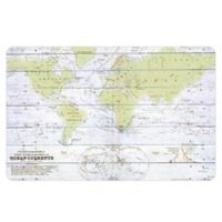 The Softer Side by Weather Guard™ Whitewash World Kitchen Mat