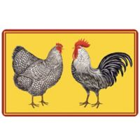 The Softer Side by Weather Guard™ Farmhouse Chickens 23-Inch x 36-Inch Kitchen Mat