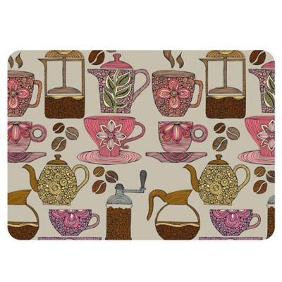 The Softer Side By Weather Guard Have Some Coffee Kitchen Mat