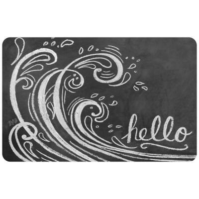 The Softer Side By Weather Guard™ 18 Inch X 27 Inch Wave Hello