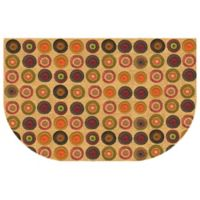 The Softer Side by Weather Guard™ 24-Inch x 40-Inch Penny Rug Kitchen Mat