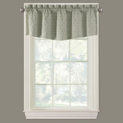 buy sage valance from bed bath & beyond