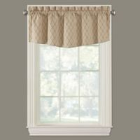 Collins Modern Ascot Window Valance in Gold