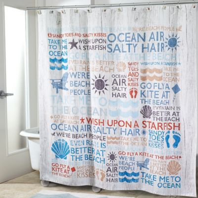 beach buy bed laural curtain themed home from shower bath curtains beyond mantra