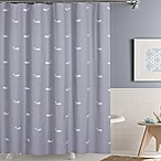 Moby 72-Inch x 72-Inch Shower Curtain in Grey
