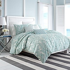 Nautica Long Bay Duvet Cover In Aqua