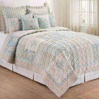 Sandbridge Twin Quilt in Blue
