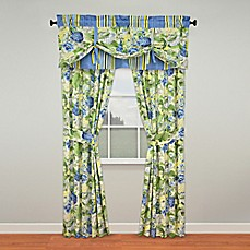 Waverly 174 Floral Flourish Window Curtain Panel Pair And