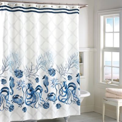 Buy Seashell Shower Curtains From Bed Bath Beyond