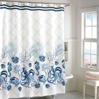 Buy Seahorse Shower Curtain