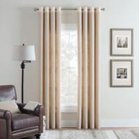 Cambria® Malta Remix 63-Inch Grommet Top Window Curtain Panel in Parchment