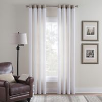 Cambria® Malta Remix 95-Inch Grommet Top Window Curtain Panel in Off White