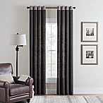 Cambria® Malta Remix 63-Inch Grommet Top Window Curtain Panel in Charcoal