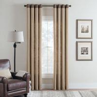 Cambria® Malta Remix 108-Inch Grommet Top Window Curtain Panel in Linen