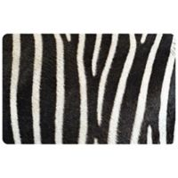 The Softer Side by Weather Guard™ 23-Inch x 36-Inch Zebra Kitchen Mat