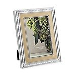 Vera Wang Wedgwood With Love Gold 5-Inch x 7-Inch Picture Frame