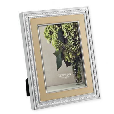 vera wang wedgwood with love gold 8 inch x 10 inch picture frame