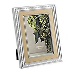 Vera Wang Wedgwood With Love Gold 8-Inch x 10-Inch Picture Frame