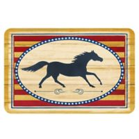 The Softer Side by Weather Guard™ 23-Inch x 36-Inch Americana Horse Kitchen Mat