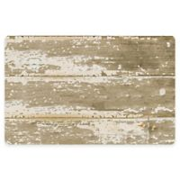 The Softer Side by Weather Guard™ 23-inch x 36-Inch Barnboard Kitchen Mat in Multi