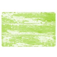 The Softer Side by Weather Guard™ 18-Inch x 27-Inch Barnboard Kitchen Mat in Green