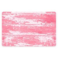 The Softer Side by Weather Guard™ 23-Inch x 36-Inch Barnboard Kitchen Mat in Pink