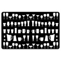 The Softer Side by Weather Guard™ 23-Inch x 36-Inch Barware Kitchen Mat in Black