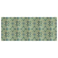 The Softer Side by Weather Guard™ 25-Inch x 60-Inch Casa Green Kitchen Mat