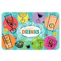 The Softer Side by Weather Guard™ 18-Inch x 27-Inch Cheers Kitchen Mat