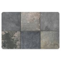 The Softer Side by Weather Guard™ Clean Slate 23-Inch x 36-Inch Kitchen Mat in Cool