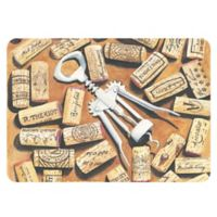 The Softer Side by Weather Guard™ 18-Inch x 27-Inch Corkscrew Kitchen Mat