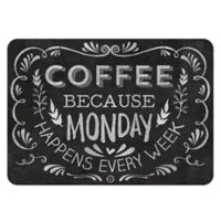The Softer Side by Weather Guard™ 23-Inch x 36-Inch Chalkboard Coffee Kitchen Mat