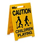 "KidKusion® Portable ""Children Playing"" Driveway Safety Sign™"